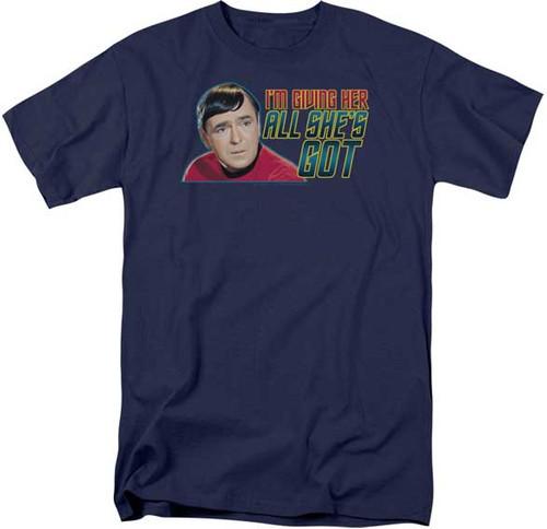 Star Trek Scotty Quote T-Shirt