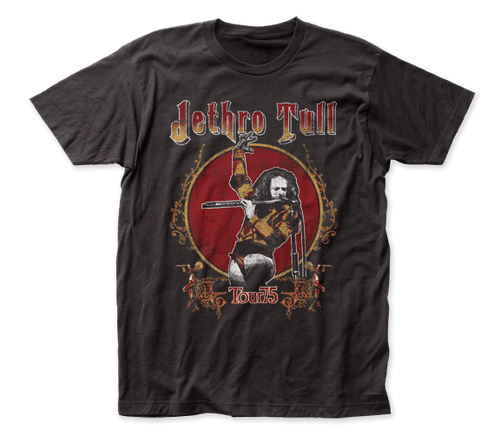 Jethro Tull 2-sided Tour 75 T-Shirt