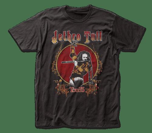 Jethro Tull 2-sided Tour 75 T-Shirt