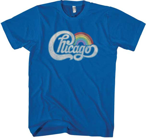 Chicago Rainbow Logo Juniors T-Shirt