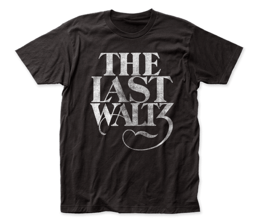 The Band Last Waltz 2-Sided Black T-Shirt