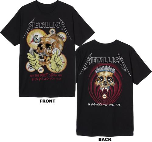 Metallica The Shortest Straw 2-Sided T-Shirt