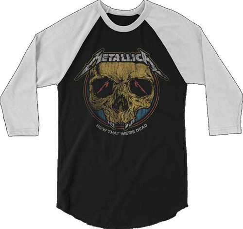 Metallica Now That We're Dead Raglan