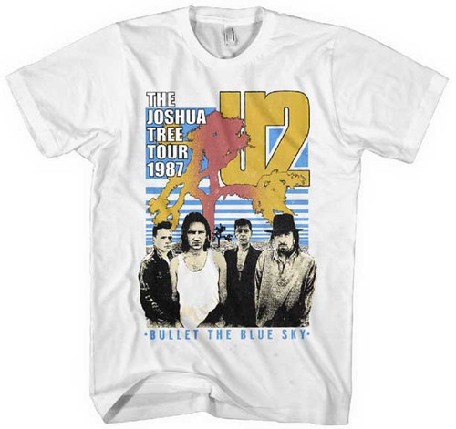 U2 Joshua Tree 1987 Tour T-Shirt