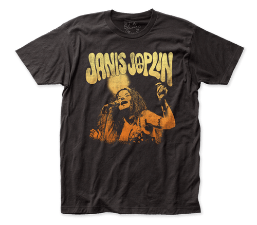 Janis Joplin at the Microphone T-Shirt