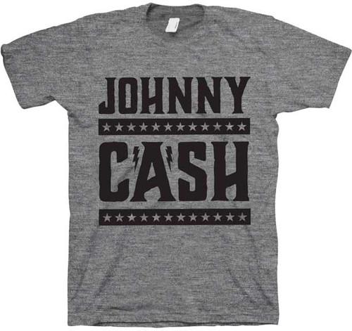 Johnny Cash Stars and Bars T-Shirt