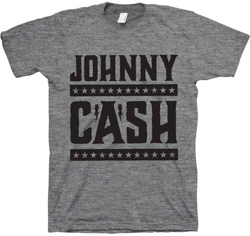 Johnny Cash Stars and Bars T-Shirt