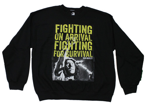 Bob Marley Fighting for Survival Sweatshirt