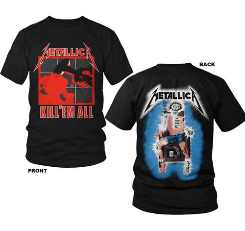 Metallica Kill 'em All 2-Sided T-Shirt