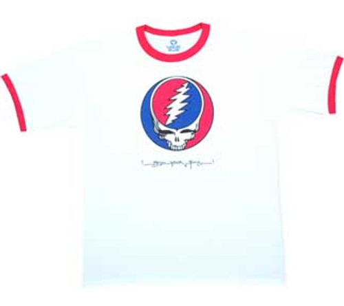 Grateful Dead Steal Your Face Ringer T-Shirt
