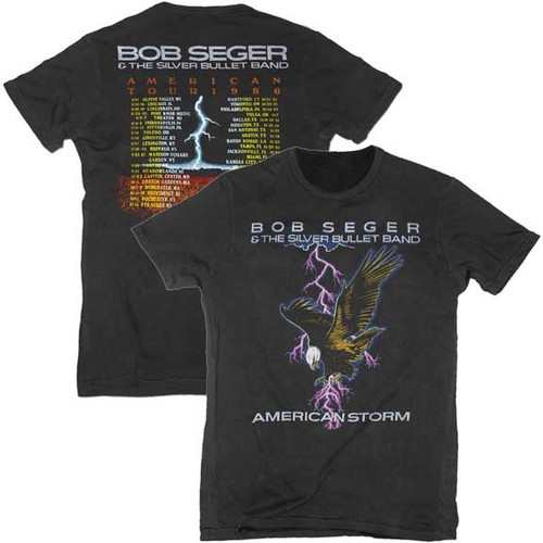 Bob Seger and Silver Bullet Band Tour T-Shirt