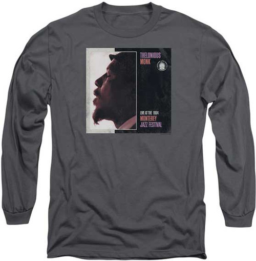 Thelonious Monk Monterey Jazz Festival LS T-Shirt