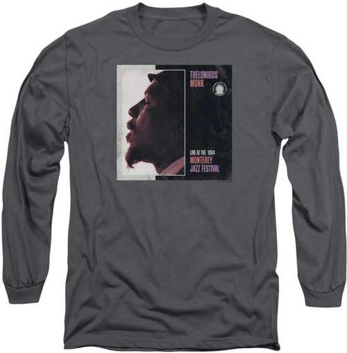 Thelonious Monk Monterey Jazz Festival LS T-Shirt