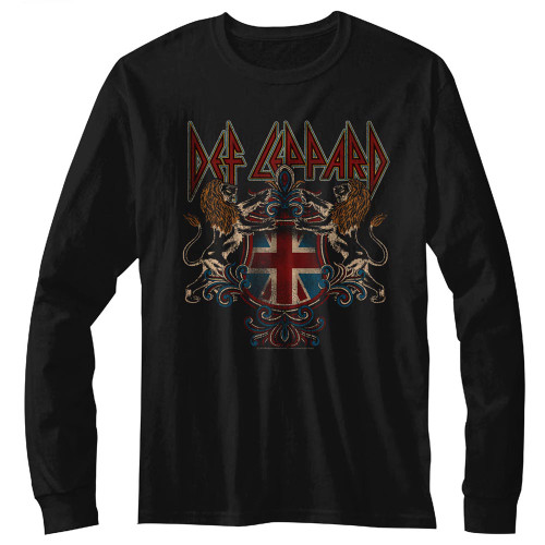Def Leppard Royal Crest LS T-Shirt