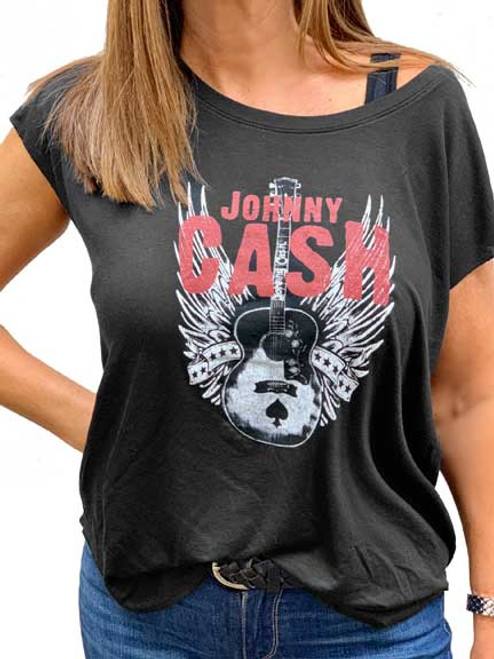Johnny Cash Dolman tee