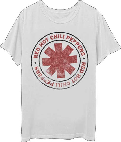 Red Hot Chili Peppers Distressed Logo T-Shirt