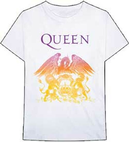 Queen Color Gradient Crest T-Shirt
