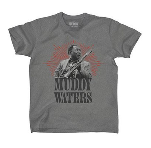 Muddy Waters Portrait with Guitar T-Shirt