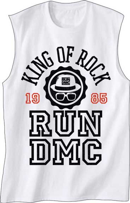 Run DMC 'King of Rock' Tank Top