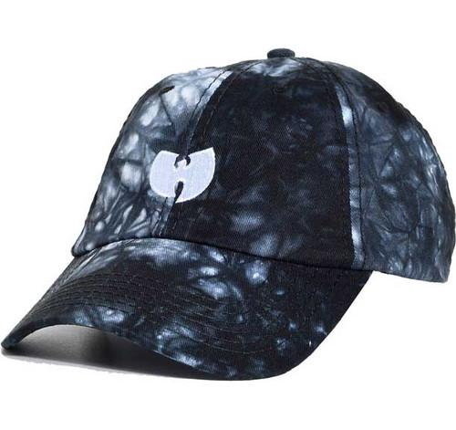 Wu Tang Clan logo on tie dye Cap