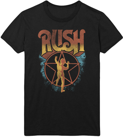 Rush Logo and Starman T-Shirt