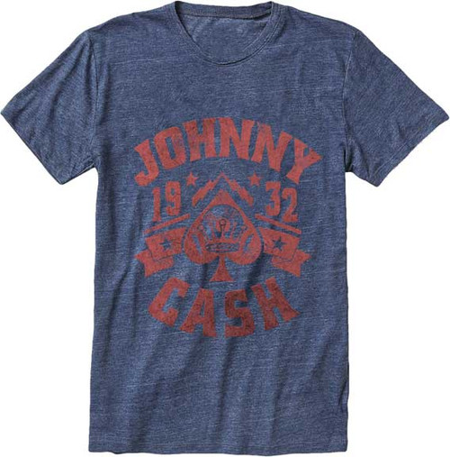 "Johnny Cash Distressed ""1932"" T-Shirt"