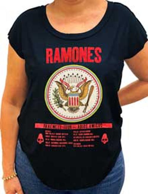 Ramones Juniors Farewell Tour T-Shirt with glitter