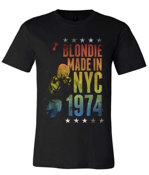 Blondie Made in NYC 1974 T-Shirt
