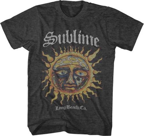 Sublime Logo Sun Stamp T-Shirt
