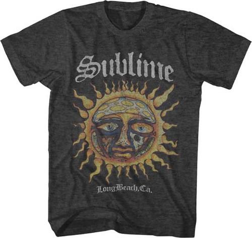 Sublime Logo Sun Stamp T-Shirt