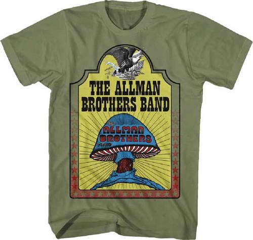 Allman Brothers Mushroom T-Shirt