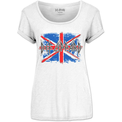 Def Leppard Union Jack Juniors/Ladies