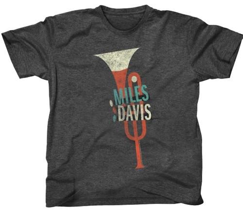 Miles Davis Trumpet Graphic T-Shirt