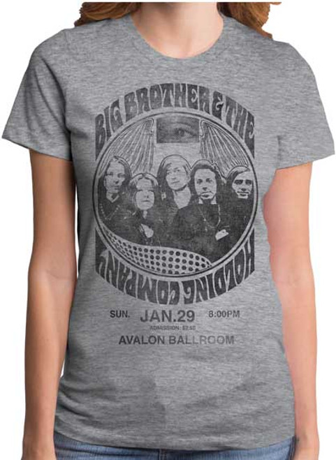 Big Brother & The Holding Company Juniors T-Shirt