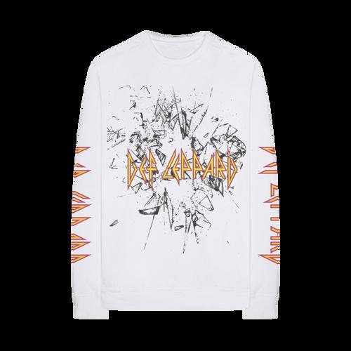 Def Leppard Shatter Long Sleeve T-Shirt