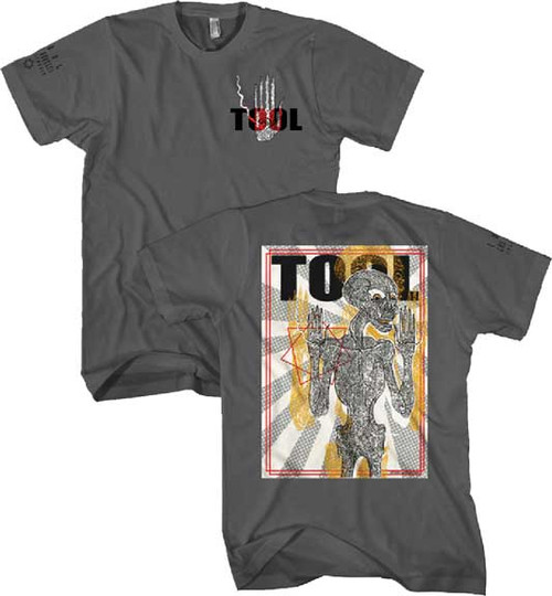 Tool Spectre Burst Skeleton 2-sided T-Shirt