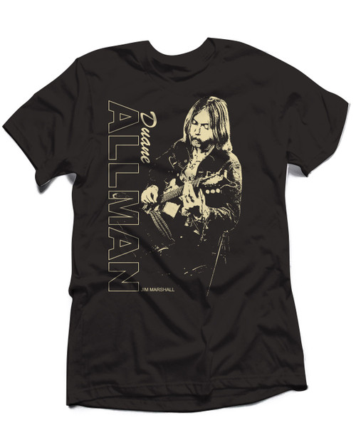 Duane Allman Slide Guitar T-Shirt