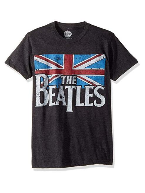 The Beatles Distressed Union Jack T-shirt
