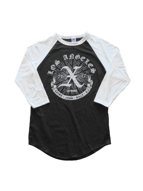 X (The Los Angeles Punk band) Raglan T-Shirt