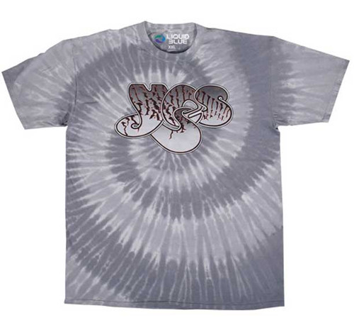 Yes Logo on Spiral tie Dye T-Shirt