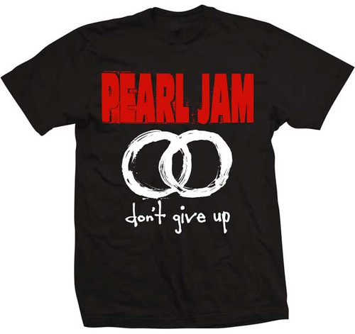 """Pearl Jam """"don't give up"""" T-Shirt"""