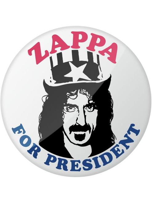Frank Zappa For President Campaign Button