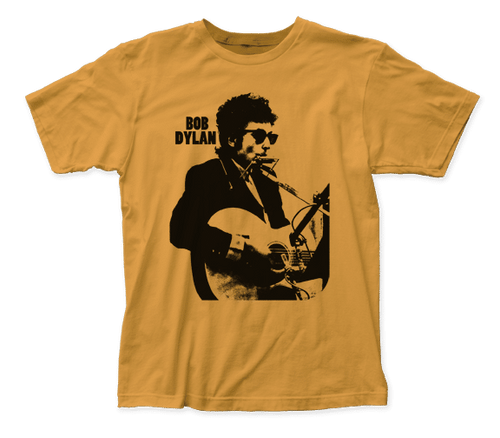 Dylan on Guitar and Harmonica T-Shirt