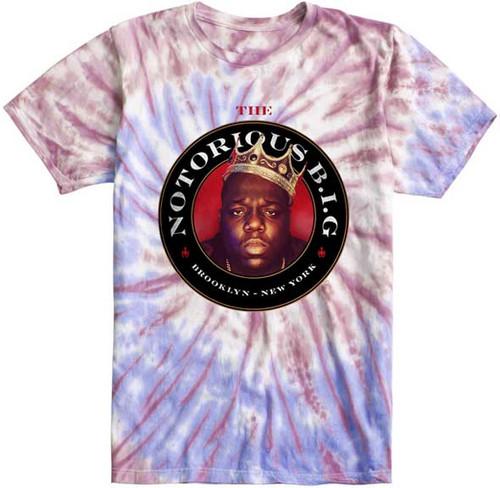Notorious B.I.G. Tie Dye T-Shirt