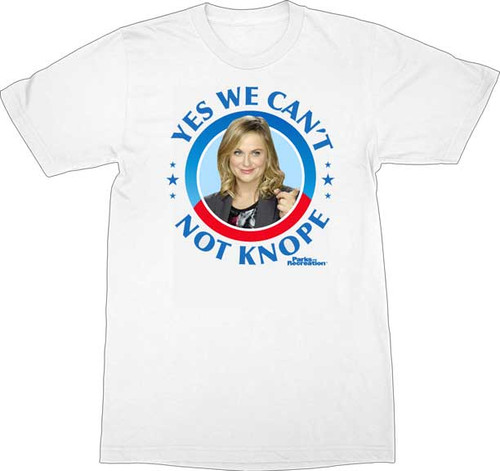 Parks and Recreation Leslie Knope Campaign T-Shirt