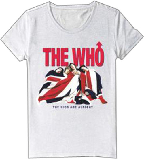 The Who Kids are Alright Juniors/Ladies T-Shirt