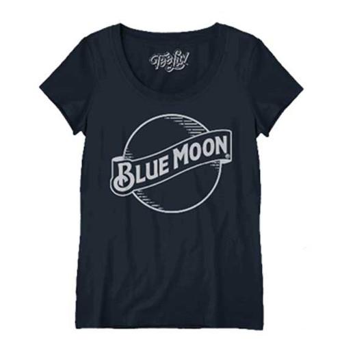 Blue Moon Logo Woman's Cut T-Shirt