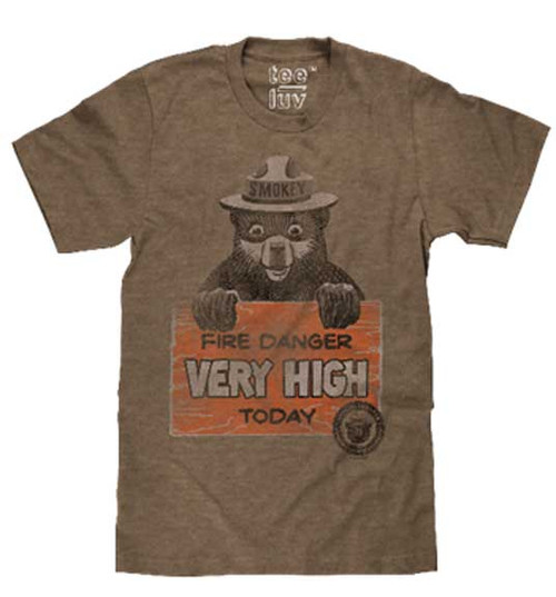 Smokey says Fire Danger VERY HIGH T-Shirt