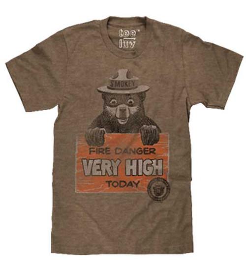 Smokey says Fire Danger VERY HIGH T-Shirt