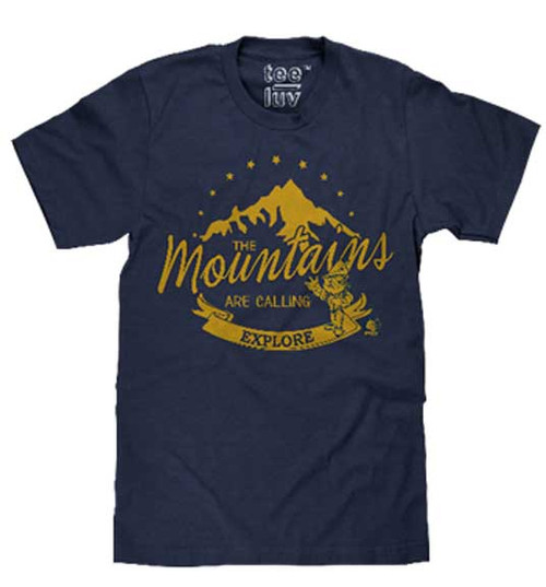 Woodsy Owl Explore the Mountains T-Shirt